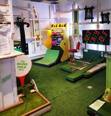 Joe Joe Jim's Crazy Crazy Golf at Fletcher's Arcade in Cofton Hackett, Birmingham