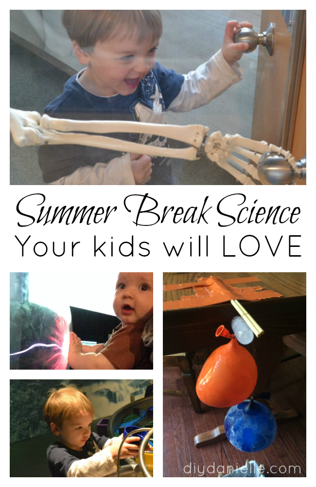 Fun Summer Break Science Ideas