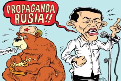 "Dinilai Bikin Resah Masyarakat, Jokowi Resmi Dilaporkan ke Bareskrim dan Bawaslu Terkait Tudingan ""Propaganda Rusia"""