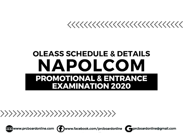 NAPOLCOM Online Application & Registration April 2020 (OLEASS)