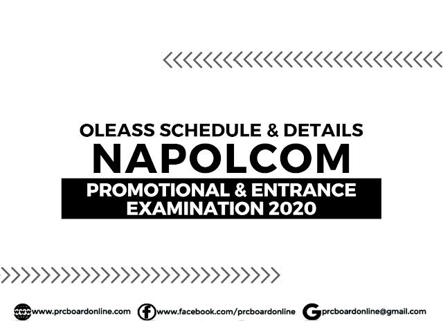 NAPOLCOM Online Application & Registration April 2020