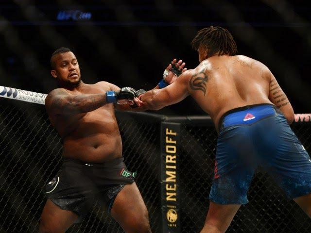 Greg Hardy clash Yorgan De Castro UFC 249