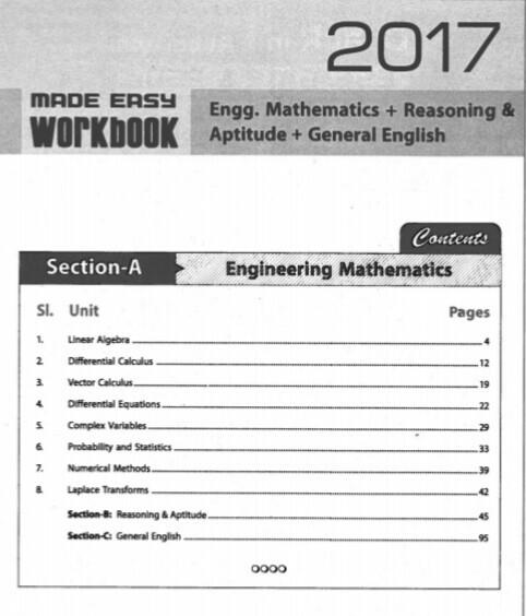 Download Made Easy Maths English Reasoning Aptitude Workbook Pdf
