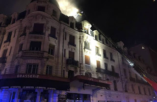 22 people injured in France building blaze: Fire service