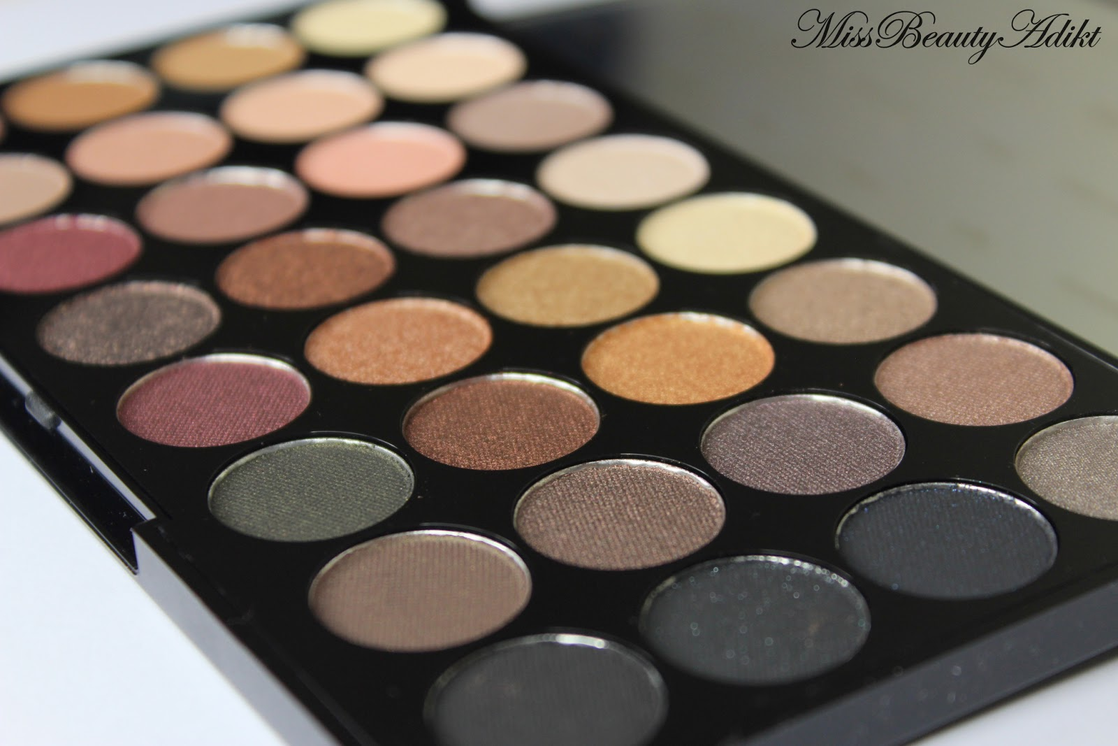 Makeup Revolution Ultra 32 Eyeshadow Palette In Flawless Review Swatches