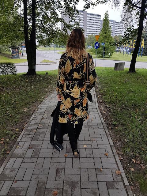 jesienna sukienka