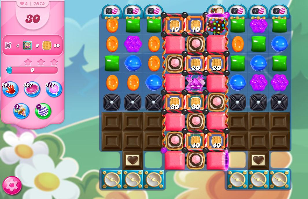 Candy Crush Saga level 7972