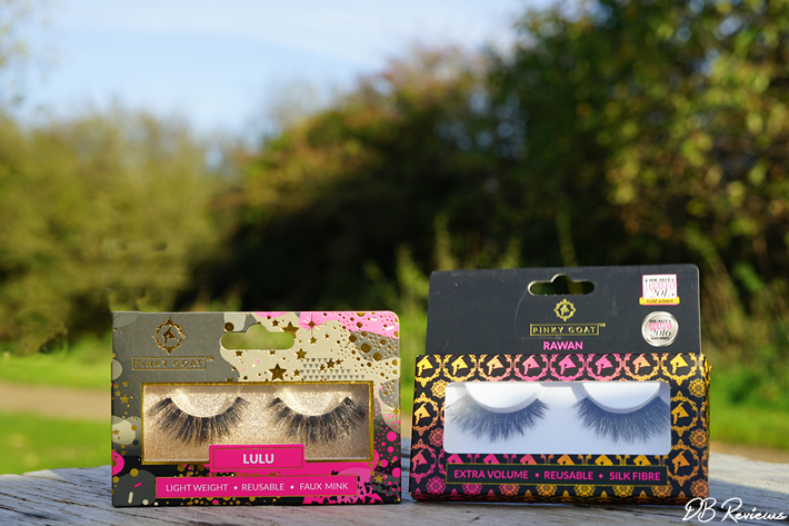 Pinky Goats Party Collection Lash range