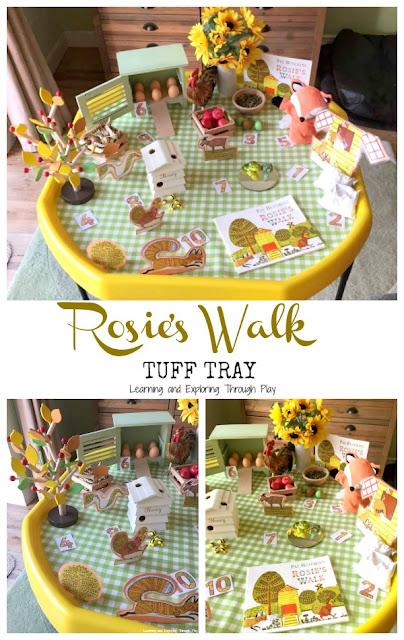 Rosies Walk Tuff Tray