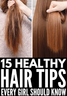 Healthy tips for dry hair