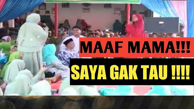 Semprot Jamaahnya, Mamah Dedeh: Tidak Ada dalam Islam, Pulang Haji Dipanggil Ibu Haji, Sombong!