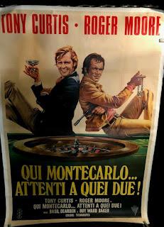 AMICALEMENT VOTRE AFFICHE ITALIENNE DU FILM ATTENTI A QUE DUE SORTIE EN ITALIE