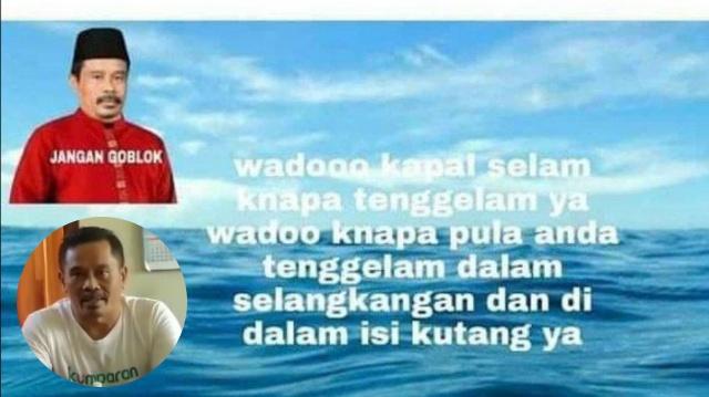 Tulis Komentar Cabul Soal KRI Nanggala 402, Capres Fiktif Nurhadi Diciduk TNI