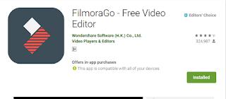 FilmoraGo Free Video Editor