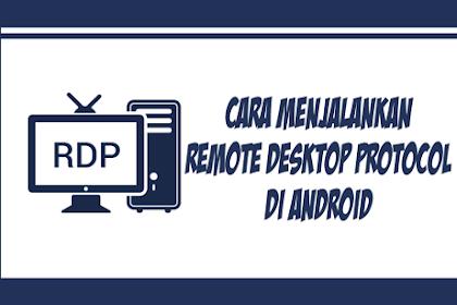 Cara Login dan Menggunakan RDP / VPS Windows di Android