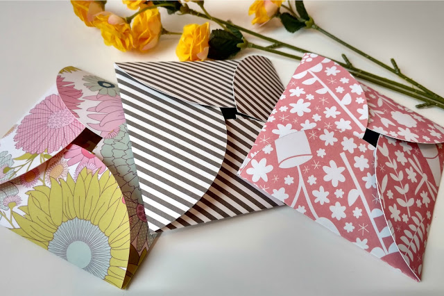 I love how simple these cards and envelopes are to make and they turned out so cute!