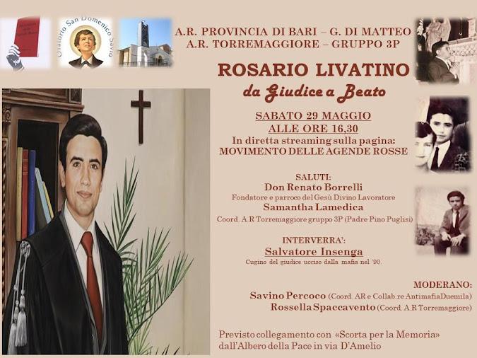 Rosario Livatino, da Giudice a Beato