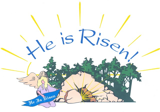 Jesus is Risen - Easter Wallpaper