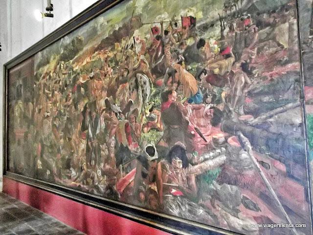 Belas pinturas no Museu de Finas Artes