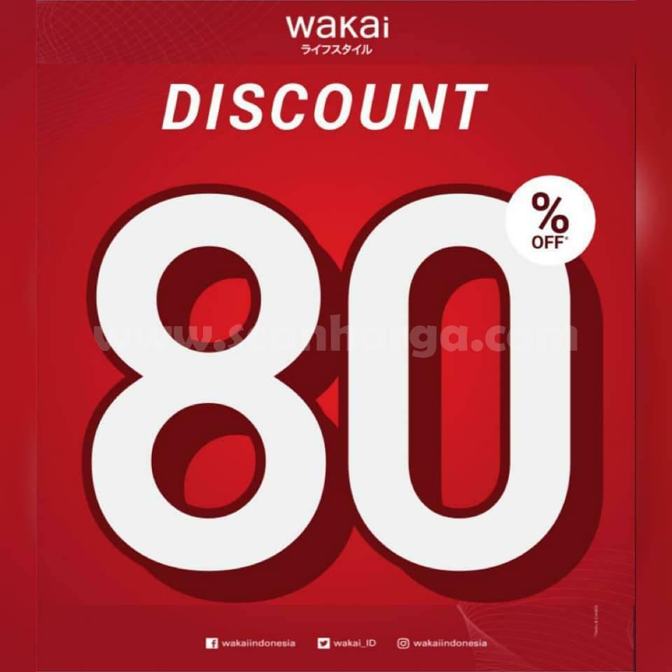 Promo WAKAI Spesial SALE - DISKON hingga 80%