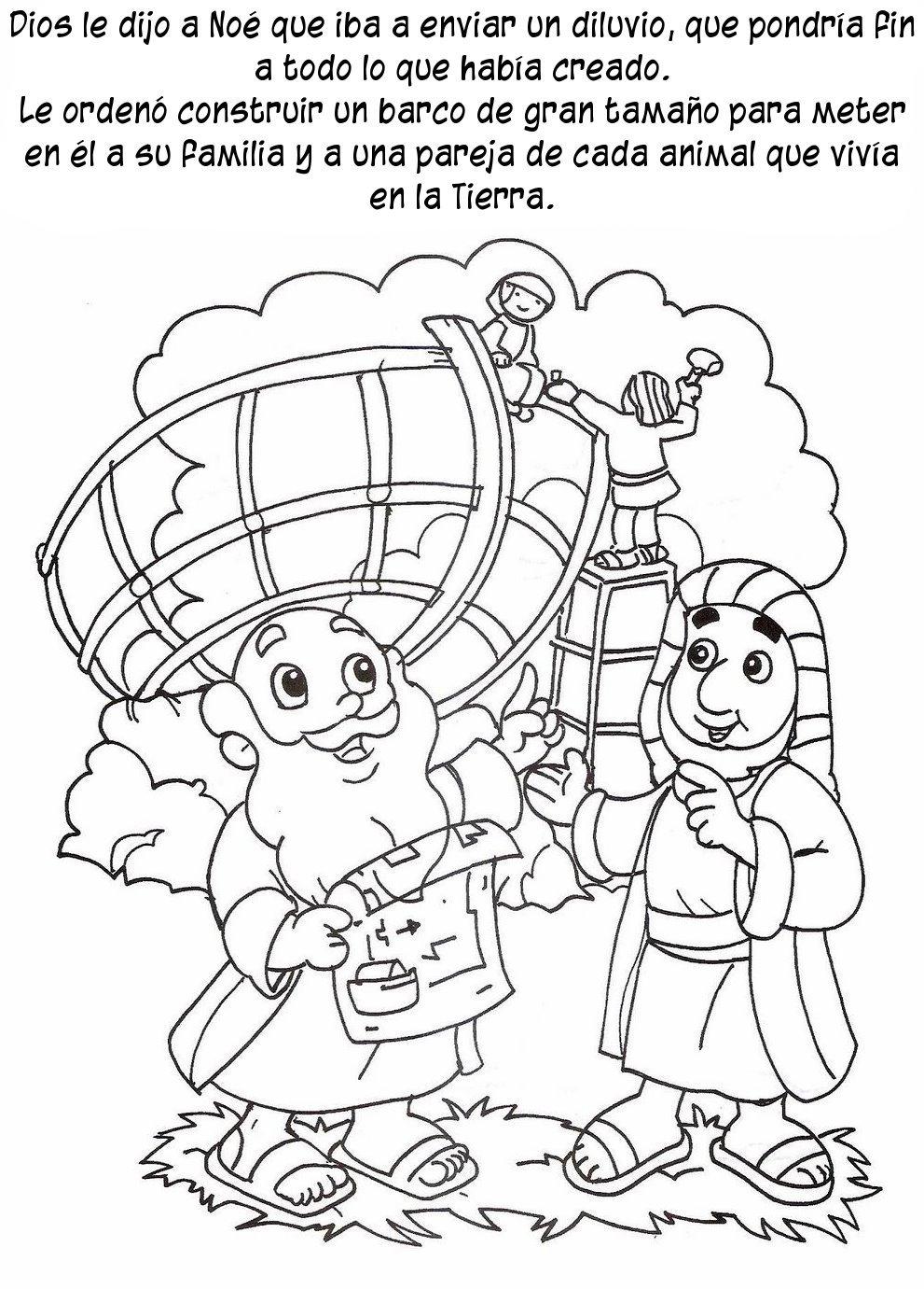 Compartiendo Por Amor Historia Arca Dibujos