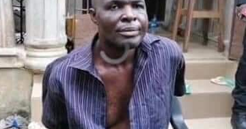 Nigerian Serial Killer And Kidnapper Escorts Police Men To Site He Hid His Victims Bodies...