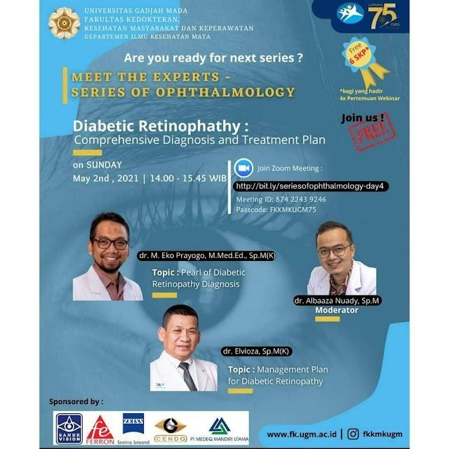 "(FREE SKP IDI) Webinar ""Meet The Experts - Series of Ophthalmology"""