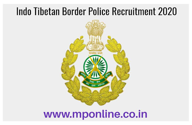 ITBP Indo Tibetan Border Police Recruitment 2020 » GDMO Post | Online Form