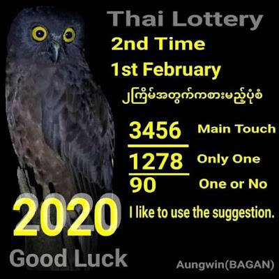 Thai Lottery Best 3up Set Facebook Timeline Blogspot 01 February 2020