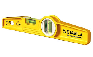Yellow color Surface Level meter from Stabila