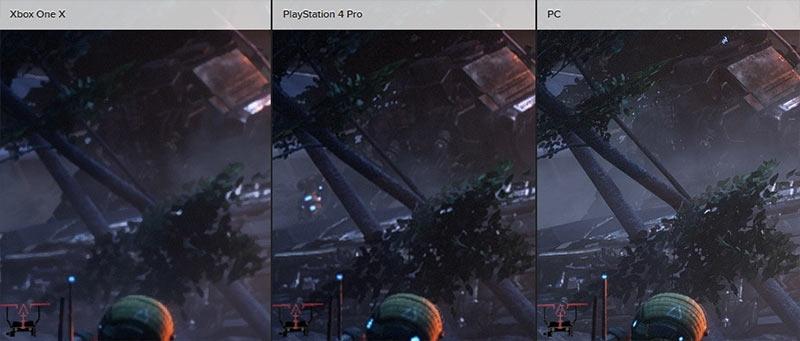Сравнение Titanfall 2 на Xbox One X и Playstation 4 Pro