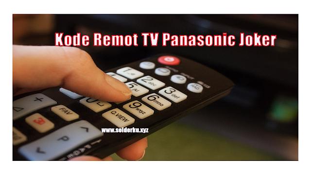 Kode Remot TV Panasonic Joker