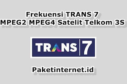 √ Frekuensi TRANS 7 Terbaru Maret 2021 MPEG2 MPEG4 HD Mhz