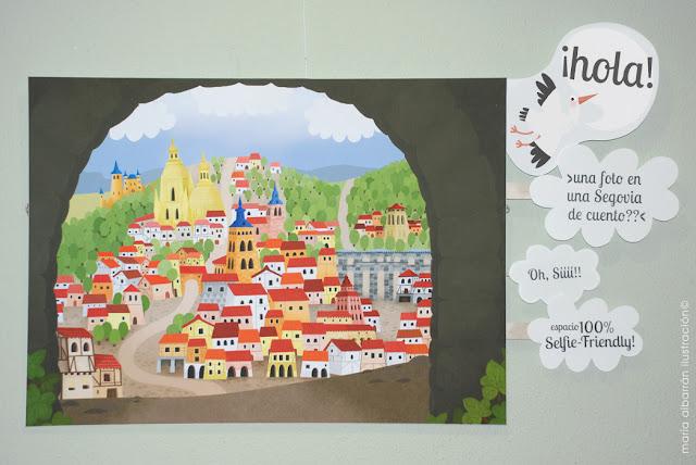 Segovia de Cuento - Maria Albarran Ilustracion