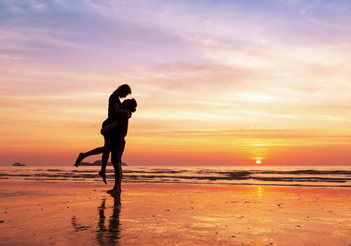 Pedir matrimonio frente al mar
