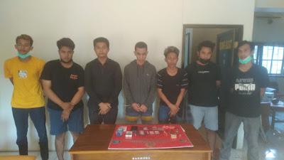 Tujuh Terduga Kasus Narkoba diamankan Satresnarkoba Polres Sumbawa