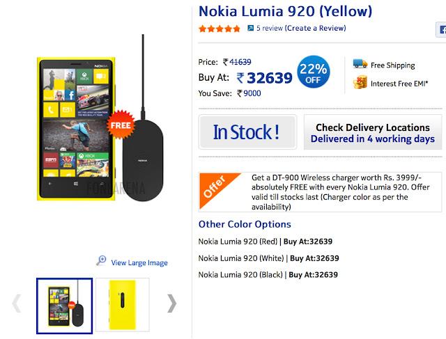 Nokia Lumia 920 gets a price cut