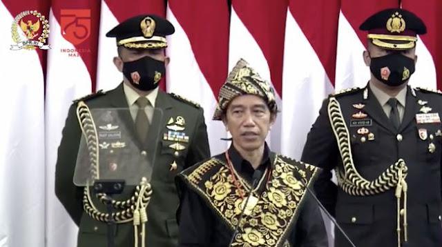 Bicara Demokrasi, Jokowi: Jangan Ada yang Merasa Paling Agamis-Pancasilais