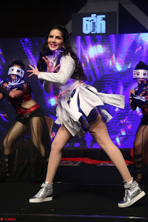 Sunny Leone Dancing on stage At Rogue Movie Audio Music Launch ~  170.JPG