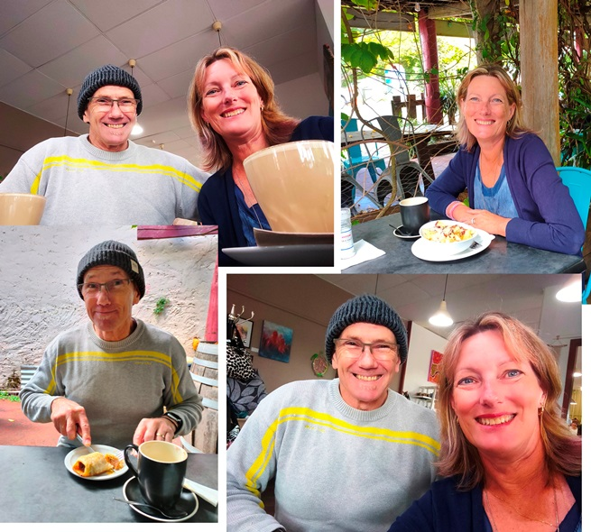 morning tea and lunch in the southwest of Western Australia