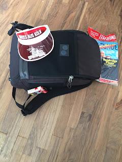 Die Kreißsaaltasche for men ist fertig gepackt