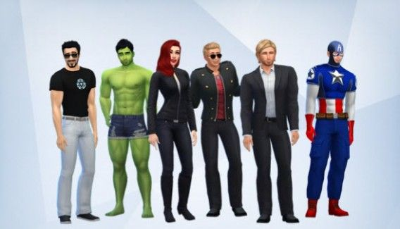 How to create the Avengers in The Sims 4