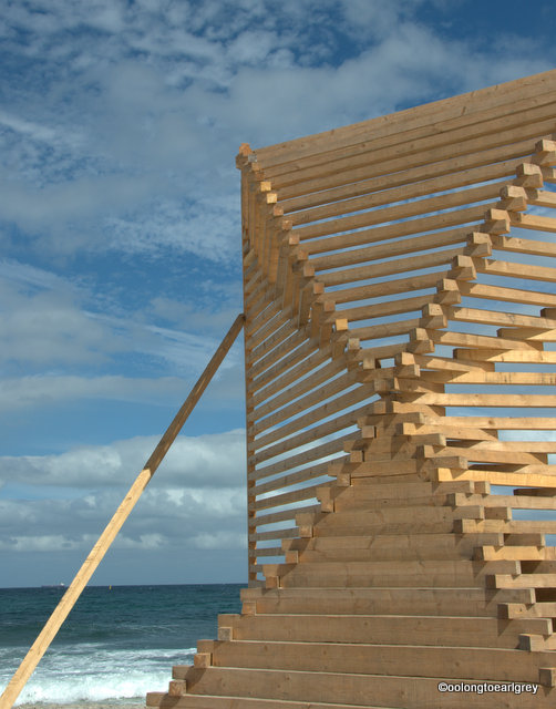 Beacon, by KWY with Lisa Kassow, Portugal/Germany, Sculptures by the Sea, Cottesloe 2016