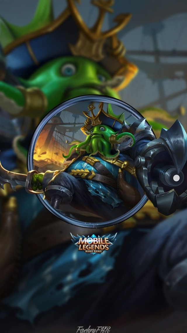 Wallpaper Deep Sea Monster Mobile Legends Full HD for Android and iOS