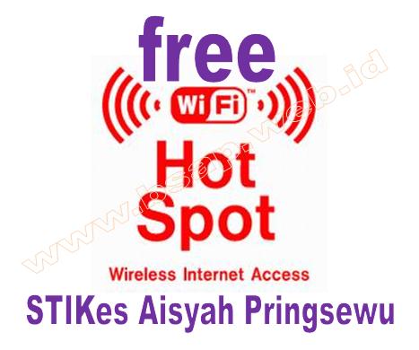 STIKes Aisyah Pringsewu Memberikan Layanan Free Hotspot