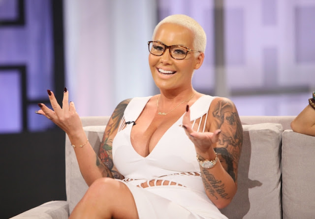 Cool And Cool Amber Rose New Haircut