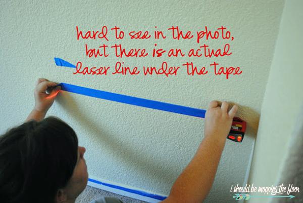 Laser Level Paint Lines
