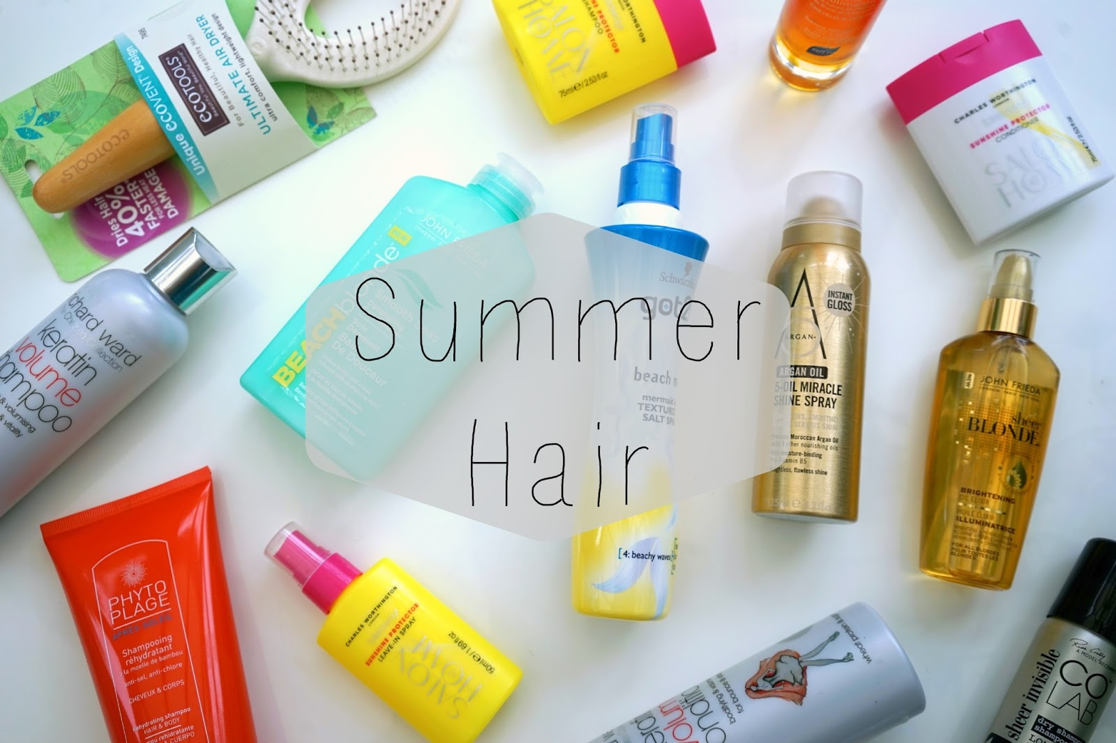 Top Summer hair products