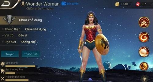 """Wonder Woman - nữ vương Amazon có tài năng vô cùng phi phàm của trong những """"siêu nhân"""" đáng gờm nhất trái đất truyện tranh DC Comics"""