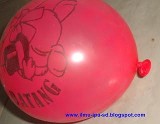 Pengaruh Suhu terhadap balon